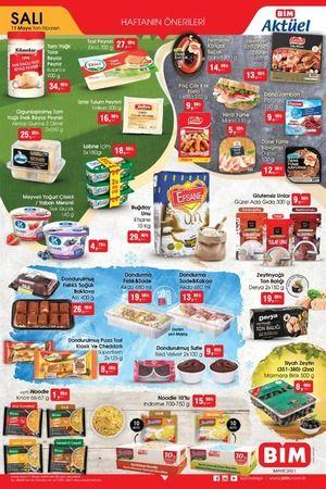 Bim Aktüel 11 Mayıs'dan itibaren geçerli ürünlerin fiyatları yayınlandı sayfa 2